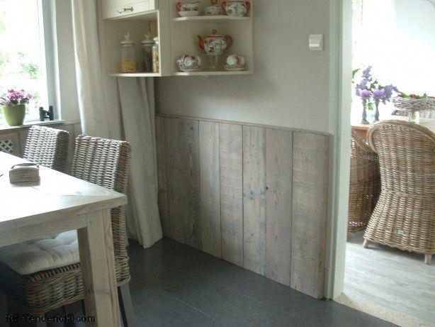 Pantry Keuken Marktplaats : mooie lambrisering van steigerhout Steigerhout en pallets