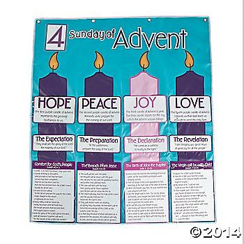 This Advent Calendar Pocket Chart is perfect for your Advent countdown!  Put it up in Sunday School and watch the kids have a great time counting down the ...