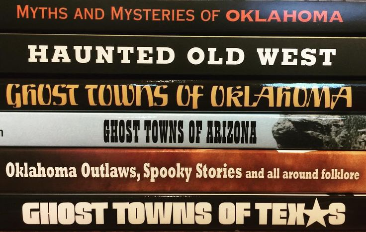 Halloween is quickly creeping and The Museum Store has books full of spooky tales of the West that are sure to make you hide under your covers!⠀ ⠀ #books #scary #scarystories #haunted #haunt #halloween #halloweenstories #halloweenbooks #ghosts #ghost #ghoststories #oklahoma #myths #mysteries #spooky #paranormal #shopsmall #shoplocal #shopokc #creepy #oklahomaauthors #arizona #texas #americanwest #west #western #haunting #ghosttown #scarystory #oldwest