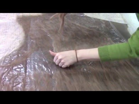 Куртка из шерсти альпаки и верблюда - YouTube