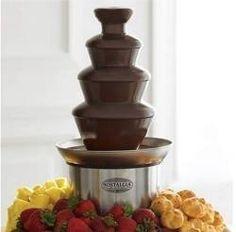 Chocolate Fountain Syrup | ... Chocolate Fountains, Chocolate Fountain Recipes and Chocolate Fondue