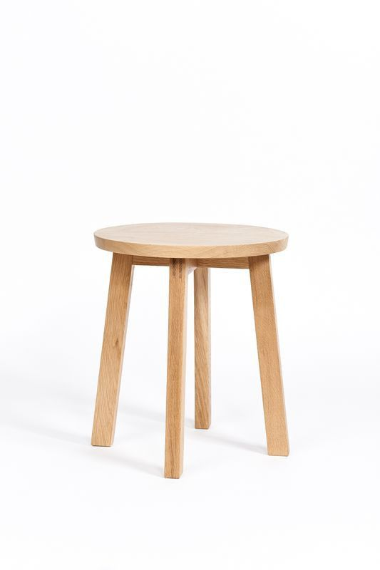 This Versatile American Oak Stool Is Great For The Living Room Bedroom Kitchen Bathroom Or Kids It Could Also Happily Double As A Small Side Table
