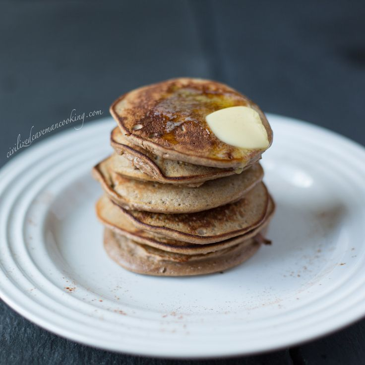 The best Paleo/Gluten Free pancakes I've ever found and it's 4 ingredients, to boot! I add 1/4 tsp salt (because pancakes should be a hint salty) and 1 tbs chopped walnuts/pecans for a little crunch. The texture is spot on. I've even made these with crunchy PB and they're almost even better.
