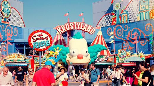 Krustyland in Universal Studios in LA #kirloy #styleconnection #USA #themepark