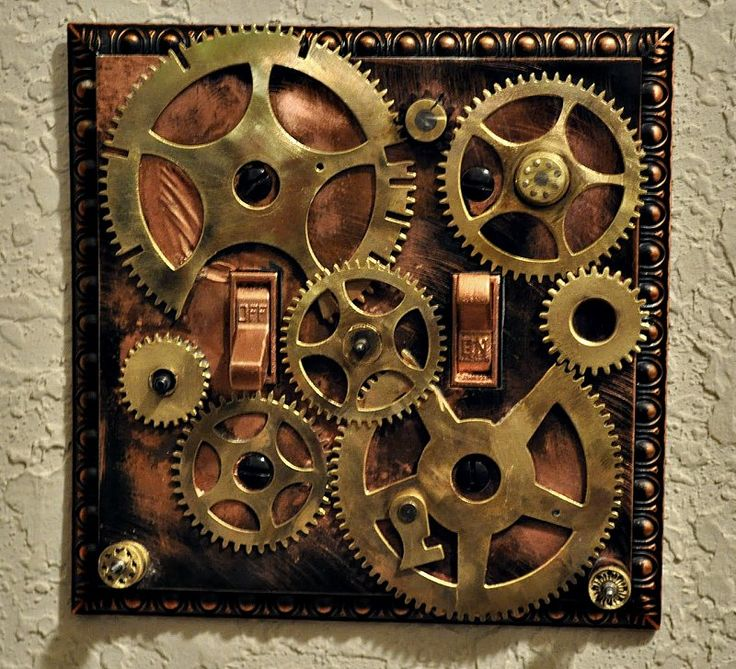 steampunk light switch - Google Search