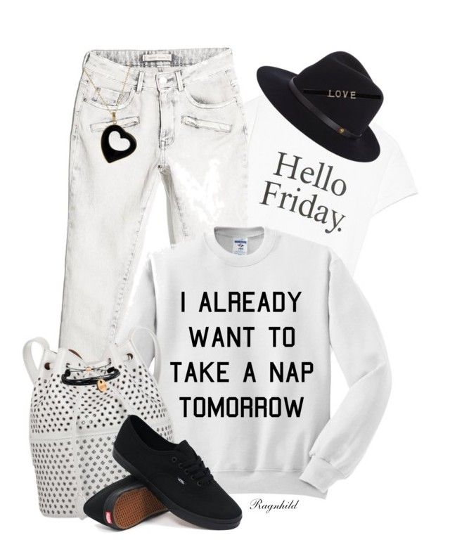 """""""Dagen antrekk / Today's Outfit"""" by ragnh-mjos ❤ liked on Polyvore featuring MANGO, rag & bone, Alaïa, Vans, Boohoo, Domo Beads, outfit, Sweater, jeans and fashionset"""