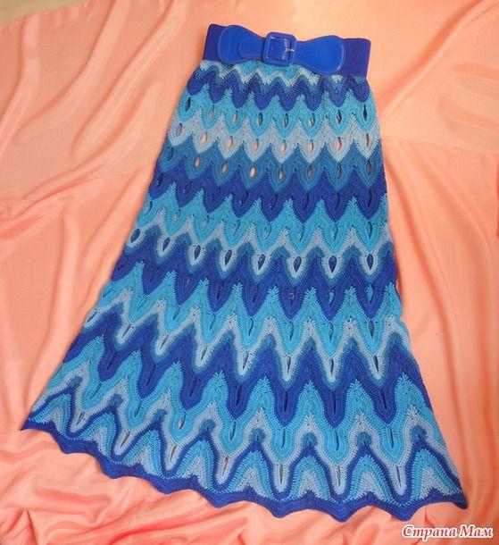 "Skirt ""Waves a la Missoni"" ... to add a photo))"