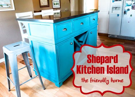 Ana white build a shepard kitchen island free and easy diy project