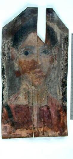 Egy nő, Hawara, AD 140-150 (London, Petrie Museum, UC 30089)