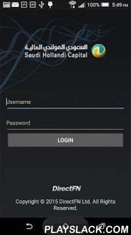 SHC TADAWUL  Android App - playslack.com , Trade easily and securely on the go with Tadawul from Saudi Hollandi Capital for Android.With this app, you can get real-time prices(*)about the Saudi stock market and trade locally using the same internet username and password.Key Features:• Easy to navigate• Delayed prices for free • Real-time market data• Organized trade lists and graphs• Best performing stock information• Accessible search tools• Market Depth by price or order• Multiple watch…