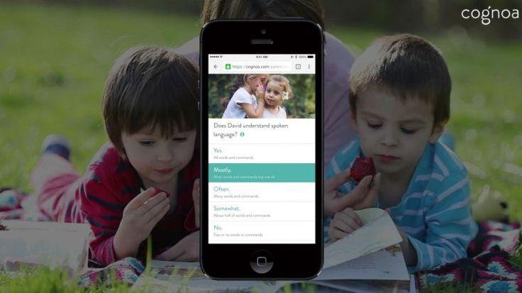 Cognoa's AI platform for autism diagnosis gets first FDA stamp   TechCrunch