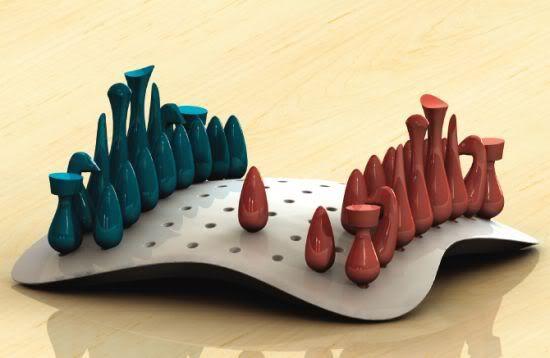 Diseño de Jerod Hugghins.. https://redespress.wordpress.com/2015/02/08/grandes-disenos-del-ajedrez/
