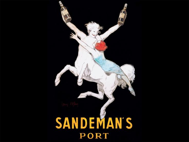 le_centaure_jean_dylen_1926_Sandemans Poster