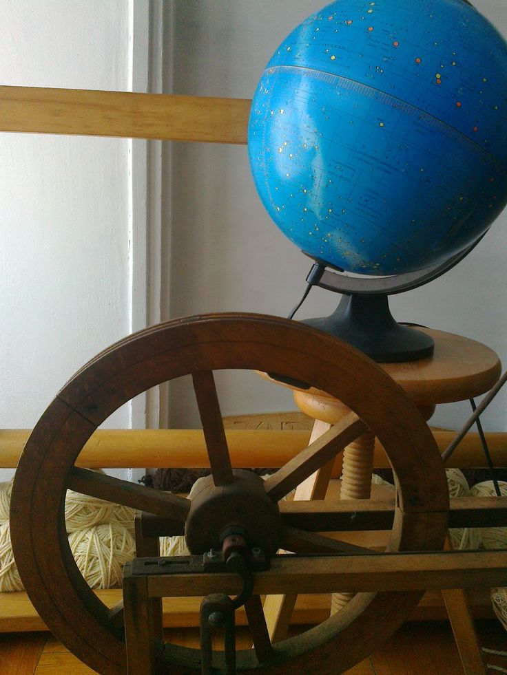 Éggömb és rokkakerék - Sky Globe and spinning wheel - www.zentaianna.hu