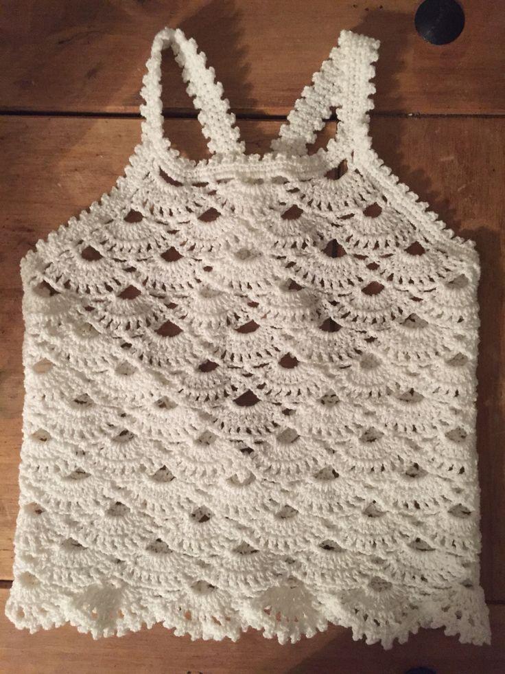 Croche baby top