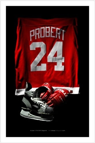 Bob Probert, My favorite fighter. RIP Bobby you are missed. God love you.