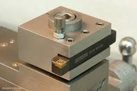 Image result for small lathe tool post