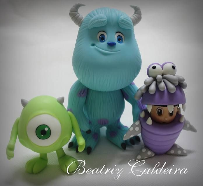 Monsters Inc Boo Cake Toppers