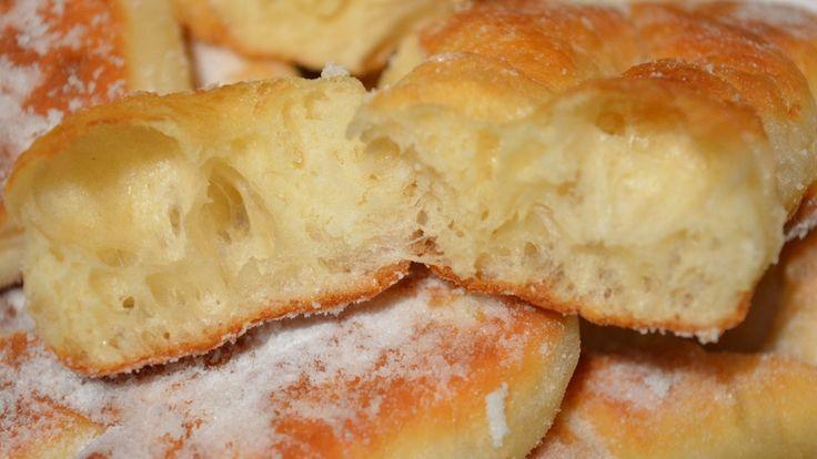 Пончики   Пышные немецкие кребли