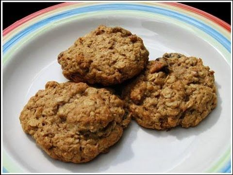 Healthy Oatmeal Protein Cookies (I would use agave and not stevia and a soy, lactose & gluten free protein)- thanks to LEANBODYLIFESTYLE