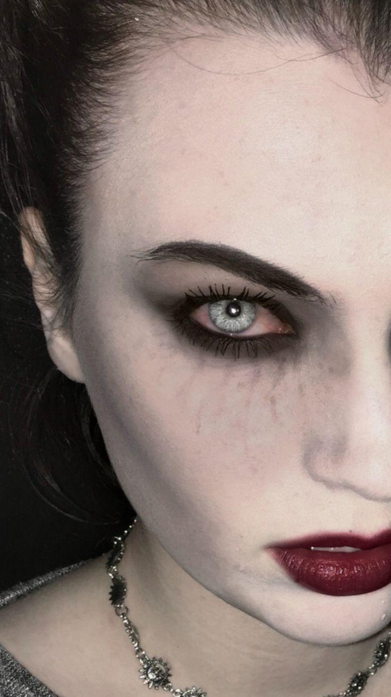 Subtle (ish) vampire makeup                              …