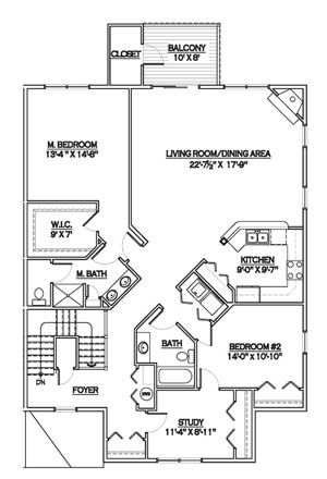 Luxury Condo Floor Plans | Condominium Residence Floor Plans – San Francisco Luxury Condos