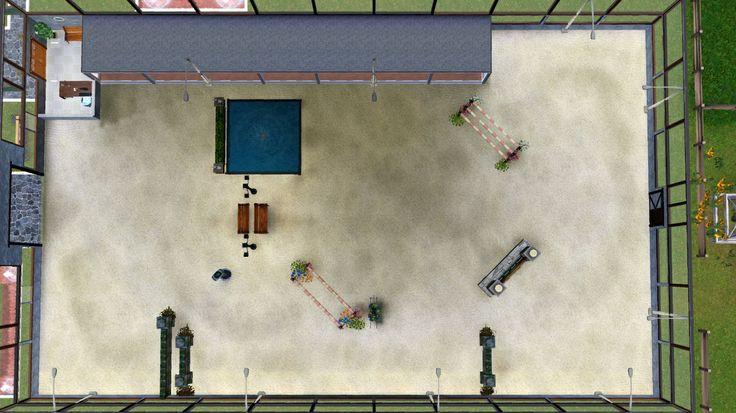 Sims 3 Realistic Horse | Appaloosa Plains International Equestrian Center
