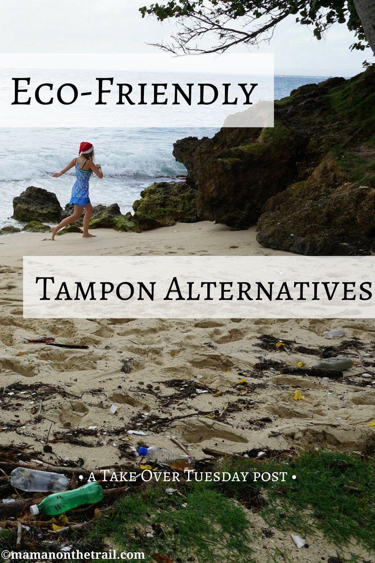 Eco-Friendly Tampon Alternatives (Take Over Tuesday) - mamanonthetrail.com