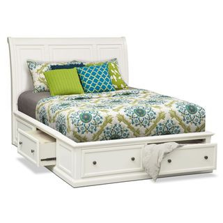 http://www.bkgfactory.com/category/Queen-Bed-Set/ [Hanover White King Storage Bed]                                                                                                                                                      More