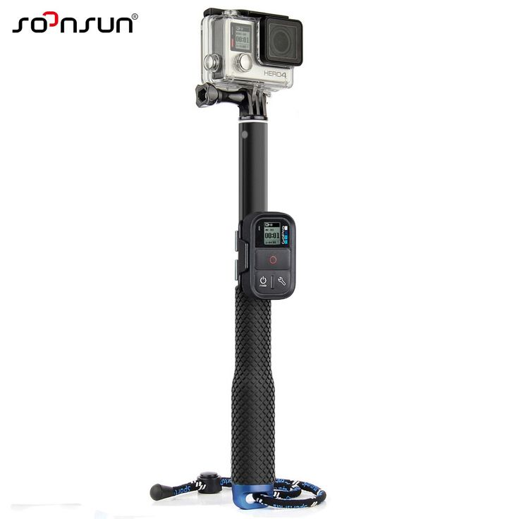 GoPro Telescopic Monopod with Remote Control Clip //Price: $16.85 & FREE Shipping //     #technology #smart