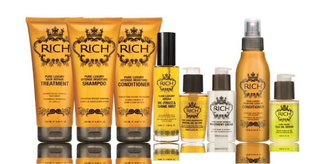 """""""RICH Hair Care delivers a new level of sophistication and style to the world of hair care. Located on the bustling Champs-Elyesées, RICH has quite literally absorbed Parisian style and blended it into a unique collection of hair care products."""" Singapore blog about RICH."""