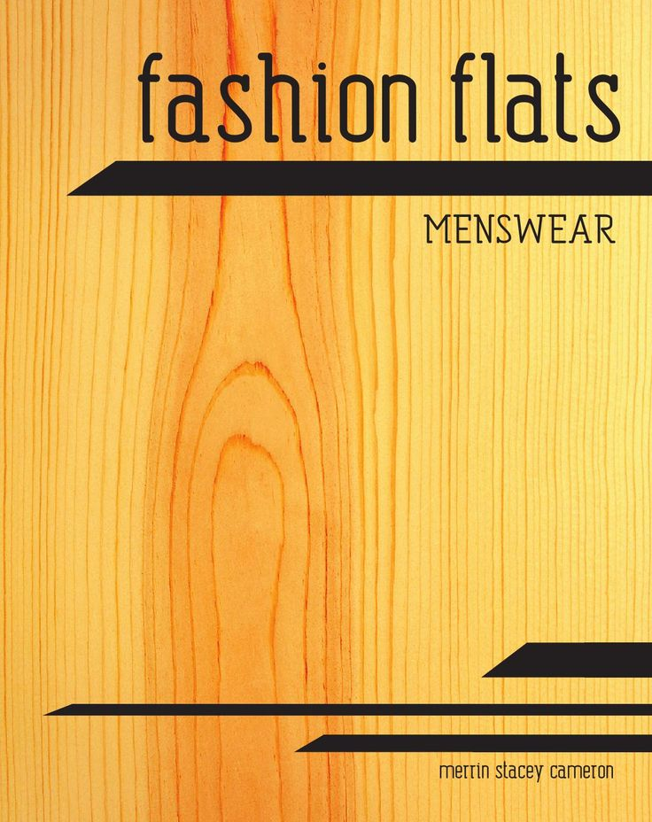 Fashion flats - Menswear  Whether you are wanting to create technical drawings of men's fashion electronically or by hand, this book will assist you with it's illustrations of menswear garments and componentry, as well as step by step instructions on creating trade flats in Adobe Illustrator. Instructions also include creating swatch fills, symbols and brushes. Book available through Amazon or download PDF via www.blurb.com