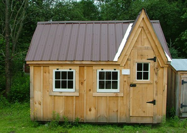 Kids Cottage Playhouse Custom Dollhouse Kit House Roof Shed Brown Roofs