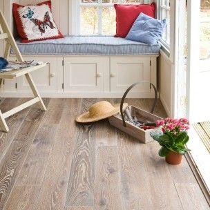 Galleria Heritage European White Fumed Oak 150mm Oiled Solid Flooring