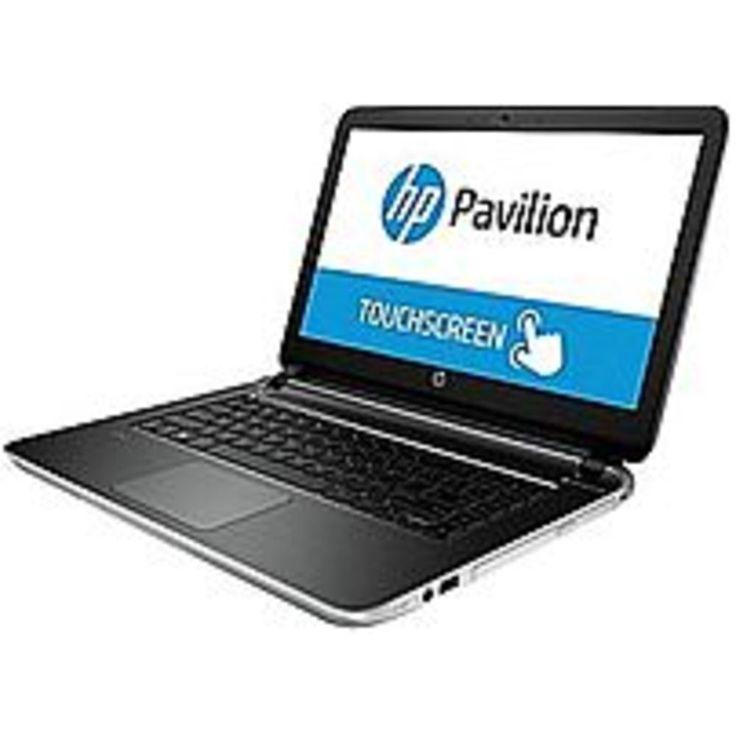HP Pavilion G6S68UA 14-v062us Notebook PC - Intel Core i3-4030U 1.9 GHz Dual-Core Processor - 8 GB DDR3L SDRAM - 750 GB Hard Drive - 14-inch Touchscreen Display - Windows 8.1 64-bit - Silver
