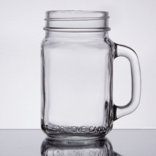 This Core 16 oz. mason jar with handle is an extremely versatile product that can be used for anything from beverage service at your bar or restaurant to DIY weddings and events. Commonly used for drinking purposes, this mason jar with handle adds a fun flair to your signature cocktails. From mojitos and other mixed drinks to lemonade, soda, and iced tea, this jar complements and showcases the fun colors of all your favorite beverage menu items. A sturdy handle also adds comfort and…