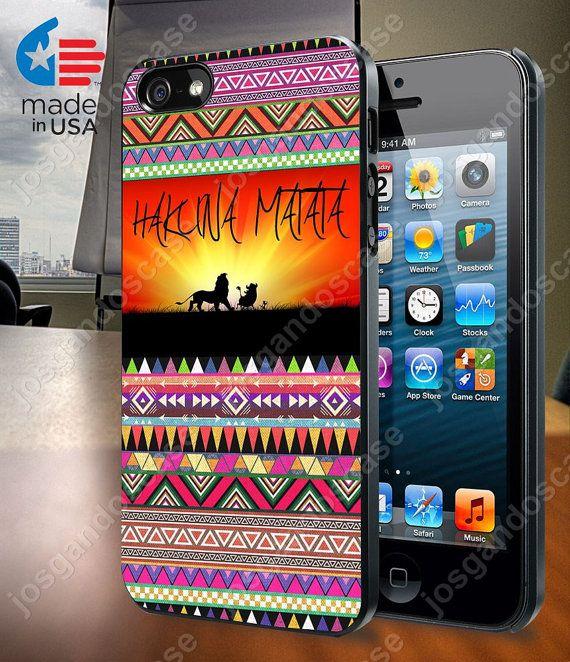 Hakuna Matata Aztec Pattern for iPhone 4/4S 5/5S by josgandoscase, $14.79