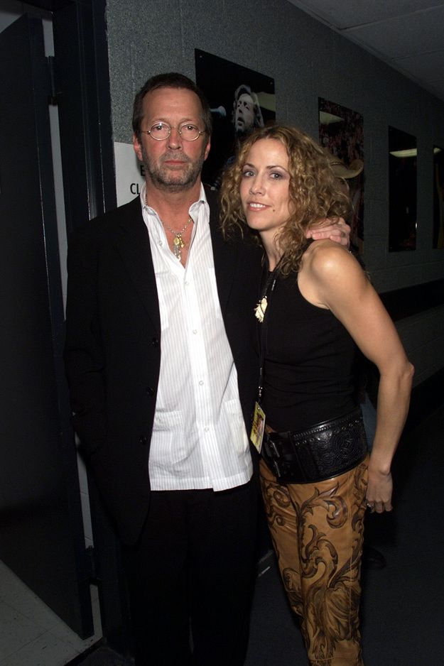 Eric Clapton and Sheryl Crow