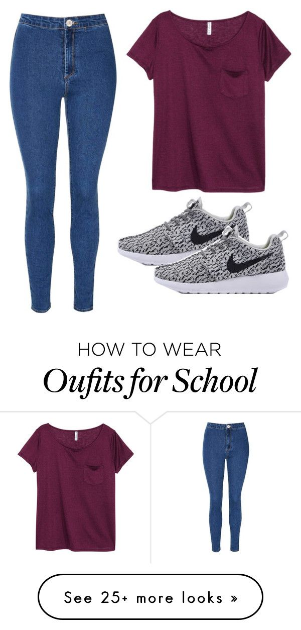 """""""Back to School"""" by jjwahlberg on Polyvore featuring Glamorous and H&M"""