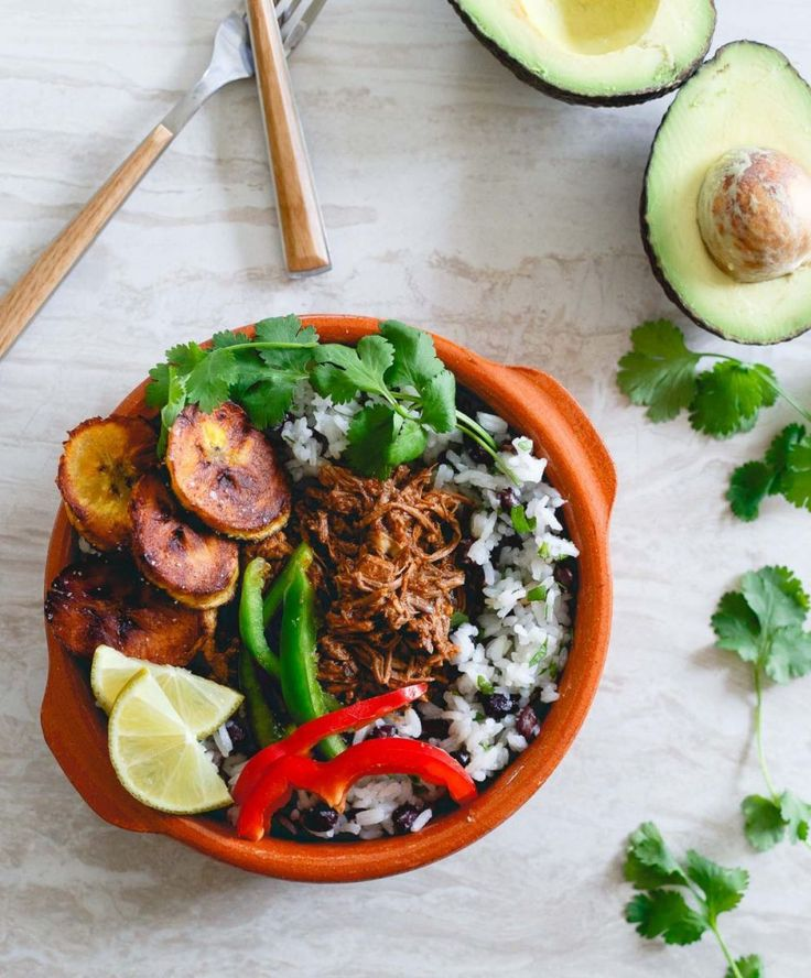 Slow Cooker Mexican Shredded Beef Bowls