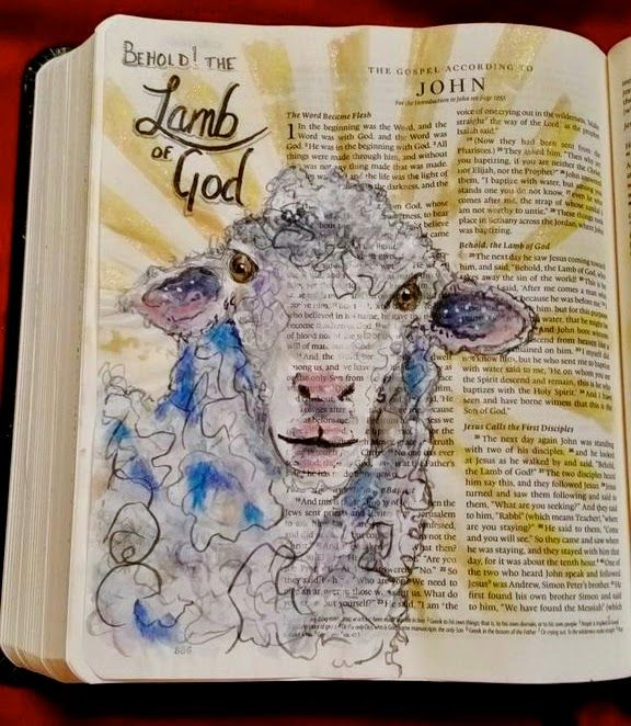"What You Make It: ""What? You Are Drawing and Painting In Your Bible?!?!?!"""