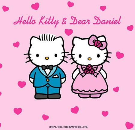 Hello Kitty Bride Clipart
