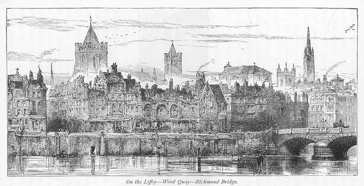 Wood quay 1884