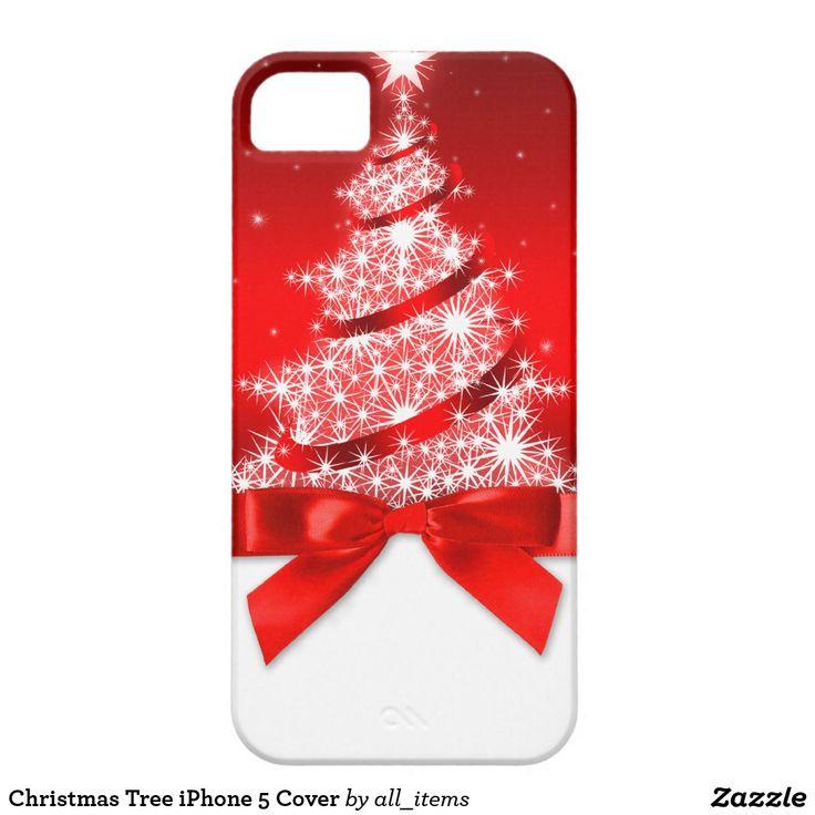 Christmas tree iphone 5 cover christmas