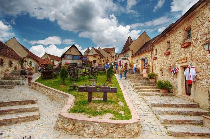 Rasnov, Romania #romania