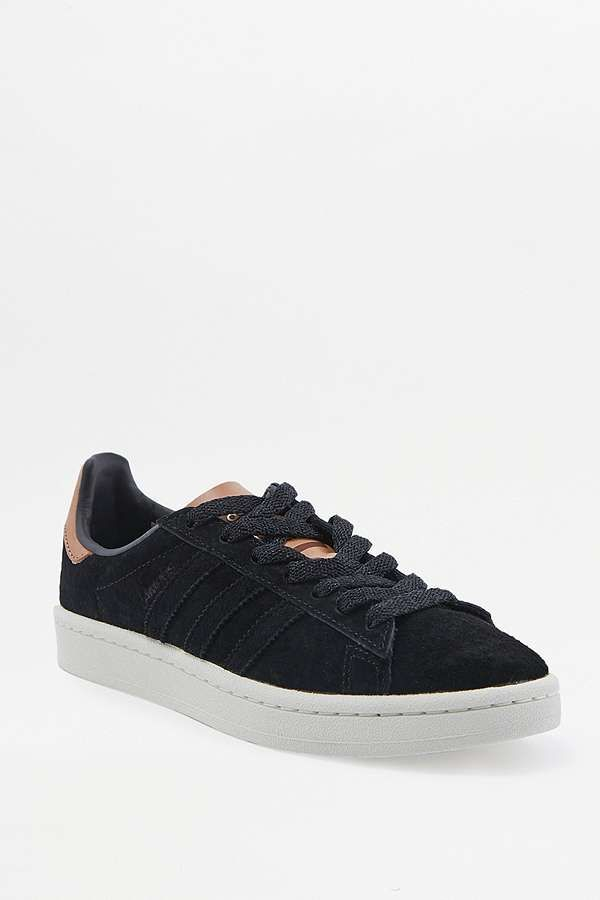 154b86f05978 ... sale slide view 1 adidas originals black and brown campus trainers  6a746 80e76