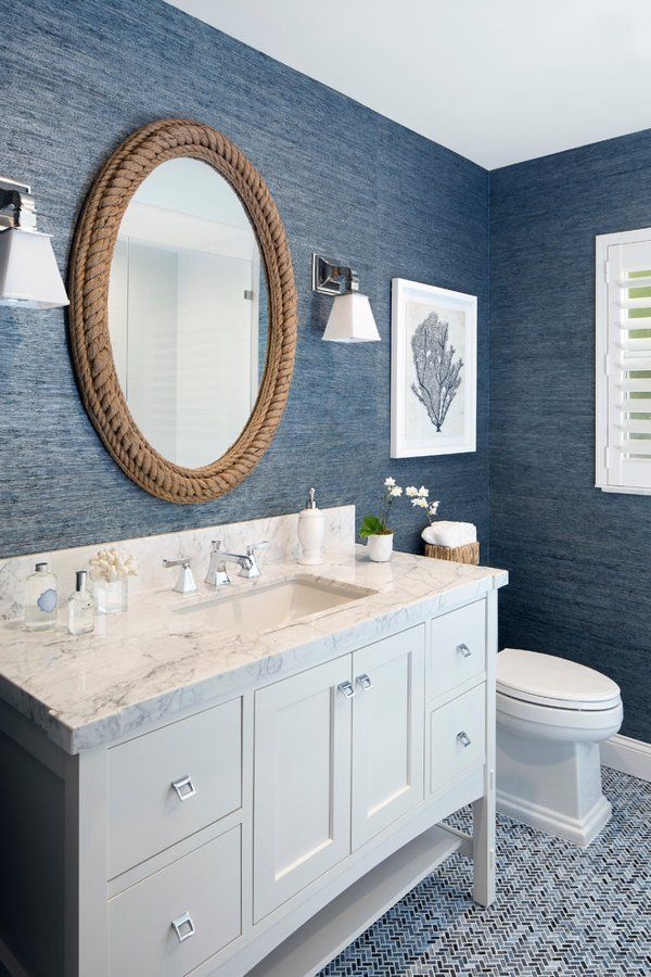 15 Coastal Mirrors That Give Your Home A Beachy Vibe With Images Coastal Style Bathroom Bathroom Design Decor Beach House Bathroom