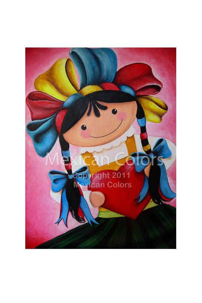 Giving Love  PRINT 8 x 10 inches  Giclee print by mexicancolors, $10.50