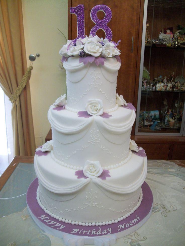 torta 18 anni/cake 18 birthday