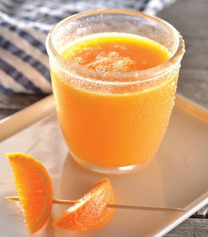 Jugo de mango con mandarina